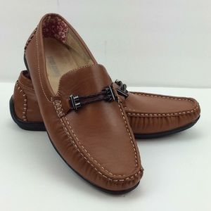 """Stacy Adams """"Percy"""" Men's Leather Driving Mocs"""